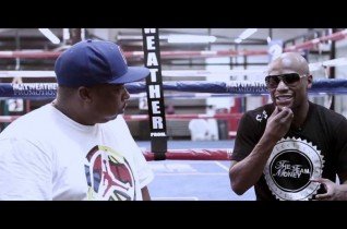 DJ LONNIE B INTERVIEWS FLOYD MAYWEATHER